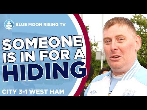 Someone Is Due A Hiding! | Man City 3-1 West Ham