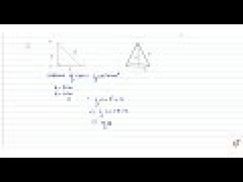 A right angled triangle    of which the sides containing the right angle are 6.3 cm and 10cm in...