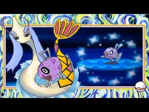 (LIVE!!) Pokemon Diamond- Shiny Feebas: After 7,226 FE's! [+Evolution]