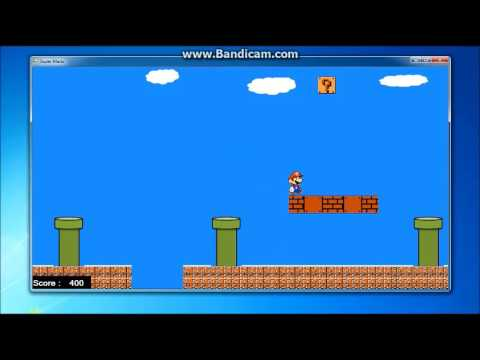 Super Mario:Made with Visual Studio 2010