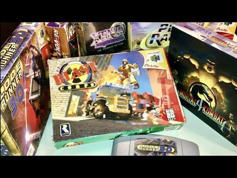 COMPLETE N64 COLLECTION! FACTORY SEALED! Recent Game Pick Ups #8