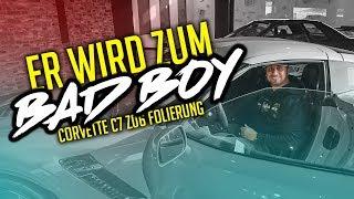 JP Performance - Er wird zum Bad Boy!   Corvette C7 Z06 Folierung