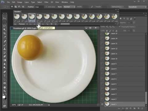 0400 Photoshop : How to reverse a video sequence