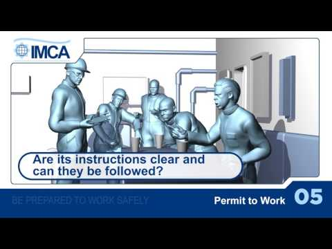 Permit to work (Italian version)