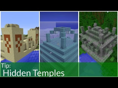 Hidden Temples in Minecraft