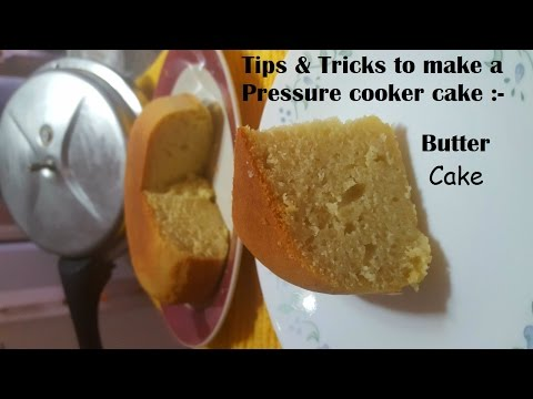 How to make a pressure cooker cake (no sand/salt)|Butter Cake recipe