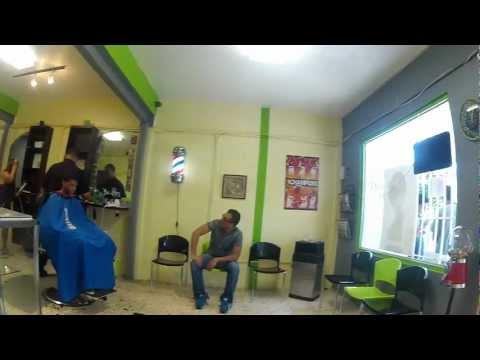Barber-shop in Puerto Rico