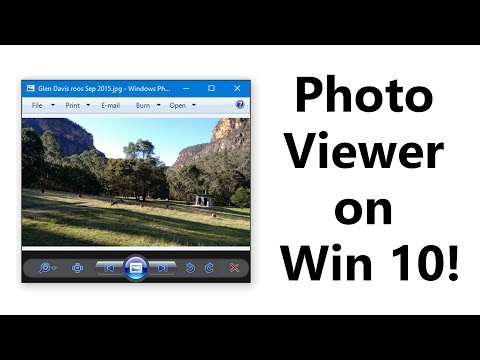 How to bring back Windows 7 Photo Viewer in Windows 10! (Free fix, no downloads)
