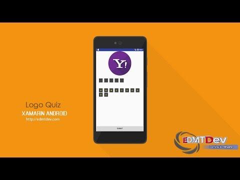 Xamarin Android Tutorial - Logo Quiz App