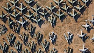 Aircraft Graveyard Of US Air Force