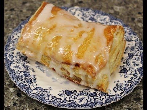 Making Homemade Raspberry Toaster Strudels – Recipe