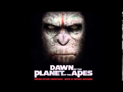 Dawn of The Planet of The Apes Soundtrack - 08. Along Simian Lines