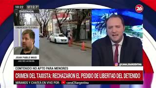 Canal 26 - EXCLUSIVO - Crimen del taxista: habló el juez