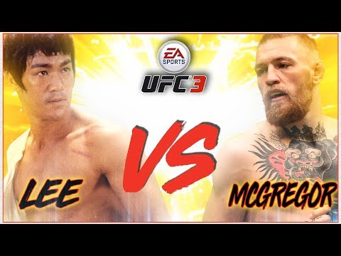 EPIC FIGHT! BRUCE LEE VS CONOR McGregor (4K 60FPS)