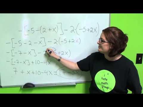 Tutorial de Algebra 3: Simplificando Expressiones