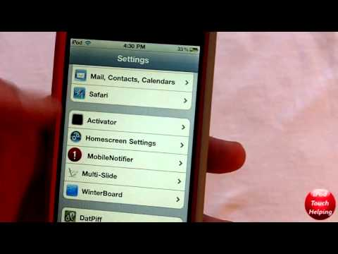 Put Setting Preferences on Your Home Screen on iPhone, iPod Touch & iPad - Homescreen Settings