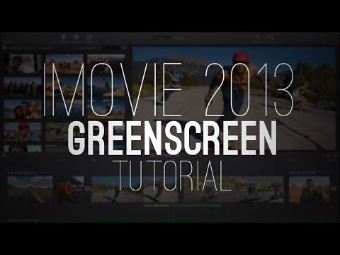 NEW iMovie 2013: Green screen/Blue screen (Tutorial)