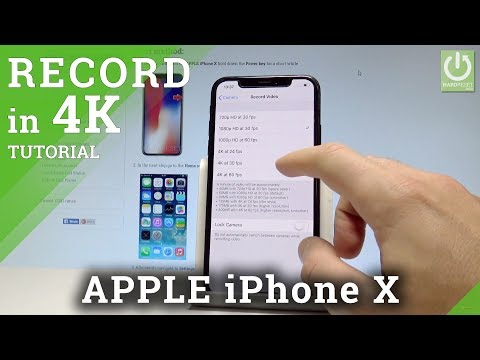 How to Enable 4K Videos in iPhone X - Record in 4K