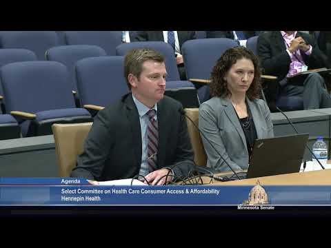 Select Committee on Health Care Consumer Access and Affordability, October 12