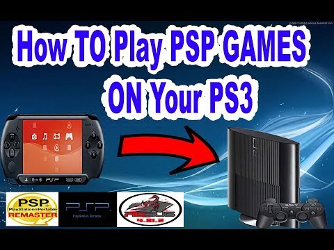 How To Play PSP Games On Your Jailbroken PS3 ( Very Easy 2017 )