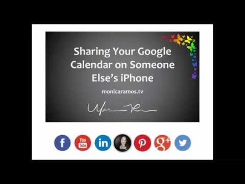 [UPDATED] Sharing Google Calendar Privately to Another iPhone