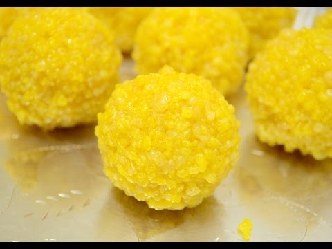 Motichoor boondi ladoo video recipe