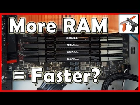 Video Editing Hardware: Does More RAM or Faster RAM Speed Improve Encoding Performance / Faster?