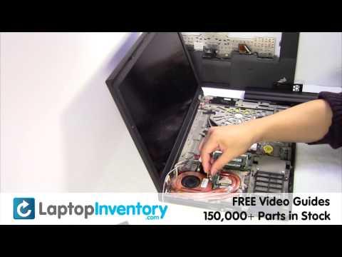 Lenovo ThinkPad W510 T410 FAN Replacement Heatsink Motherboard Laptop Disassemble Take Apart