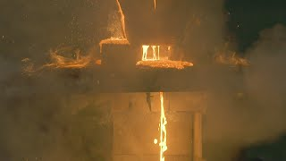 Can Steel Extinguish A 4,000°F Thermite Flame? | Street Science