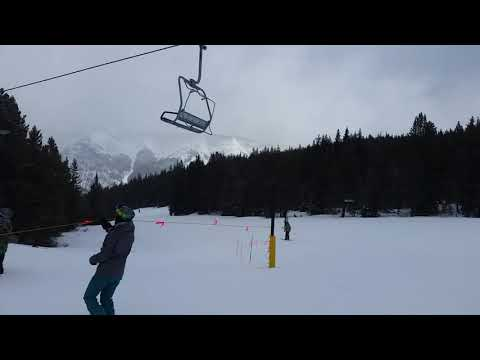 Kid Dangling from Chair Lift Doesn't Make It!