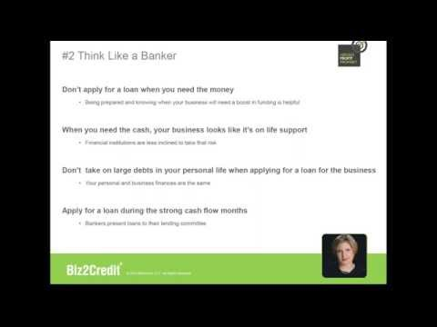 Webinar - Money Doesn't Grow on Trees, But Getting a Business Loan is Easier Than You Think!