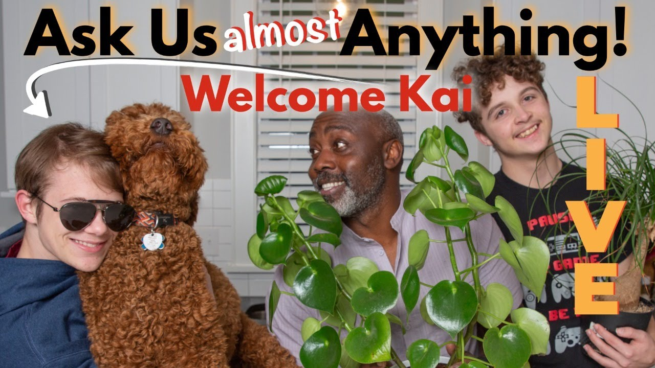 Ask Us (Almost) Anything | Welcome Kai! LIVE!