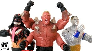 Brock Lesnar, John Cena, Finn Balor WWE Mutants Toy Unboxing & Review!!