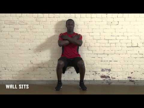 Wall Sits - Own the Front of the Net | Nike Hockey Training