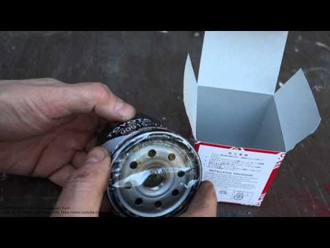 Genuine oil filter info Toyota Corolla. Why original filter is better