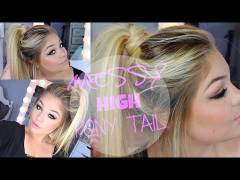 Summer Hair Tutorial | Messy High Ponytail | Blissfulbrii
