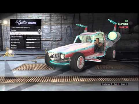GTA Online: SPACE DOCKER Give Out - How To Make It Your Personal Vehicle(PSN ONLY)