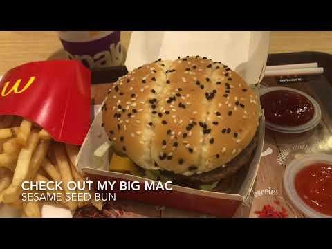 Big Mac Meal At Lucky Plaza McDonald's Singapore