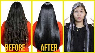 (WINTER SPECIAL) Get glossy hair,silky shiny, straight hair at home/INDIANGIRLCHANNEL TRISHA