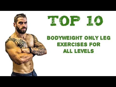 Zeus Top 10 Bodyweight Only Leg Exercises For All Levels