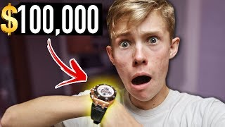 BUYING MY DREAM WATCH AT AGE 17!