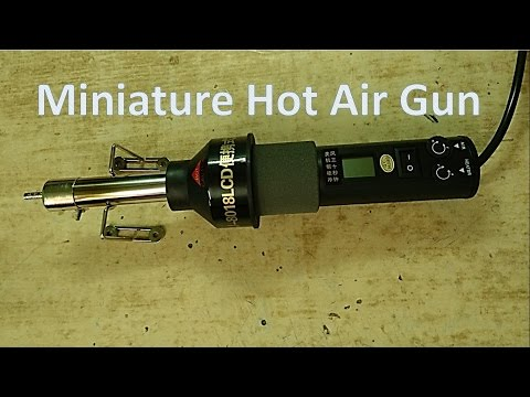 Miniature Hot Air Gun for SMT Rework  from Banggood
