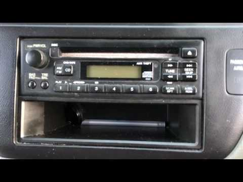 NO DEALERSHIP Fix Radio Error Code on Honda Odyssey 2003 (Locked Up Radio)