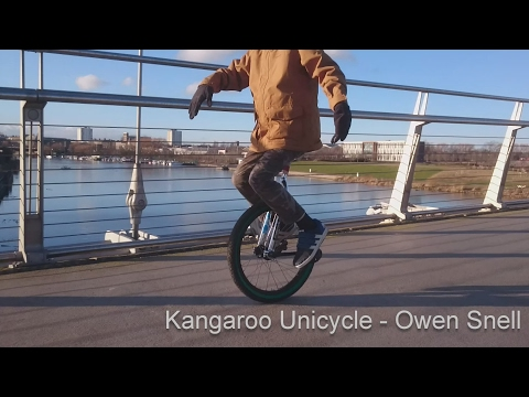 Getting started on an Eccentric Kangaroo Unicycle