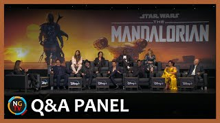 The Mandalorian, Q&A Event with Dave Filoni, Jon Favreau, Pedro Pascal, Carl Weathers