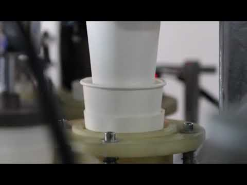 High speed cup sleeve/double wall paper Cup machine