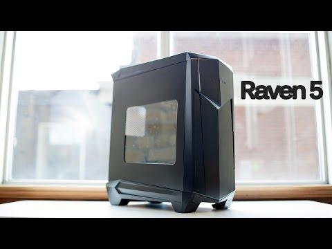 Batman Case? SilverStone Raven 5 RV05 PC Case Review