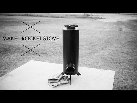 Making a Rocket Stove