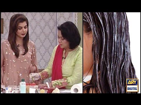 Get Rid of Split Ends, Regrow Shinny Hairs - Good Morning Pakistan