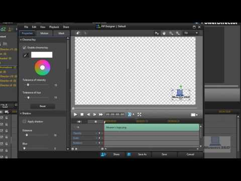 How To Add A Logo/Watermark In PowerDirector 11[FAST & EASY]